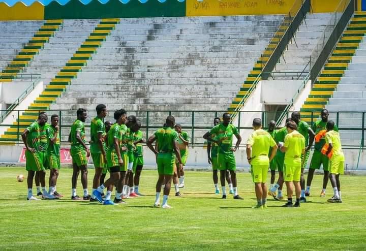 هزيمة المنتخب الوطني أمام نظيره من غينبا الاستوائية